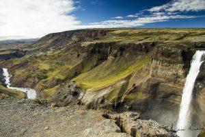 Háifoss waterval waterfall IJsland Iceland fotografie Andrea Liebrand