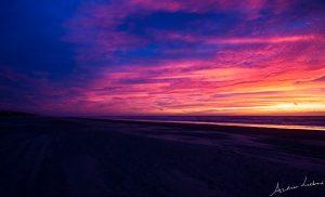 strand beach Zandvoort aan Zee zonsondergang Sunset fotografie Andrea Liebrand