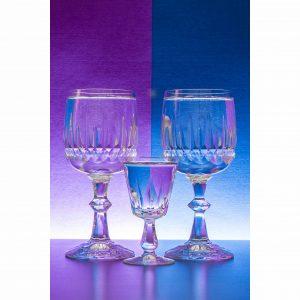 serie fotografie glazen kristal